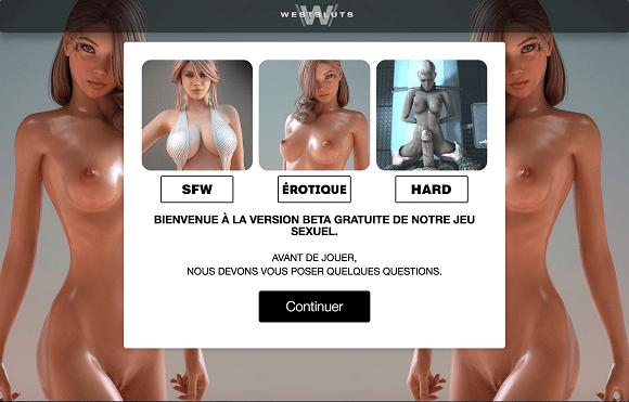 Comment jouer gratuitement à West Sluts ?